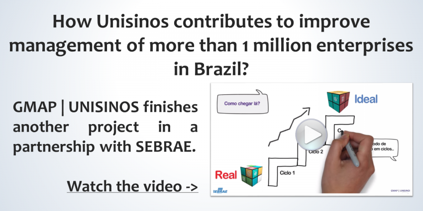 How Unisinos contributes to improve management of more than 1 million enterprises in Brazil?