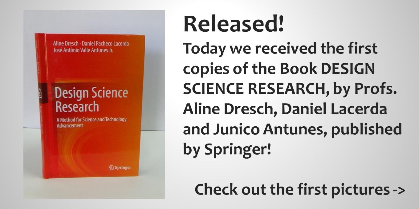 Design Science Research Book Released!